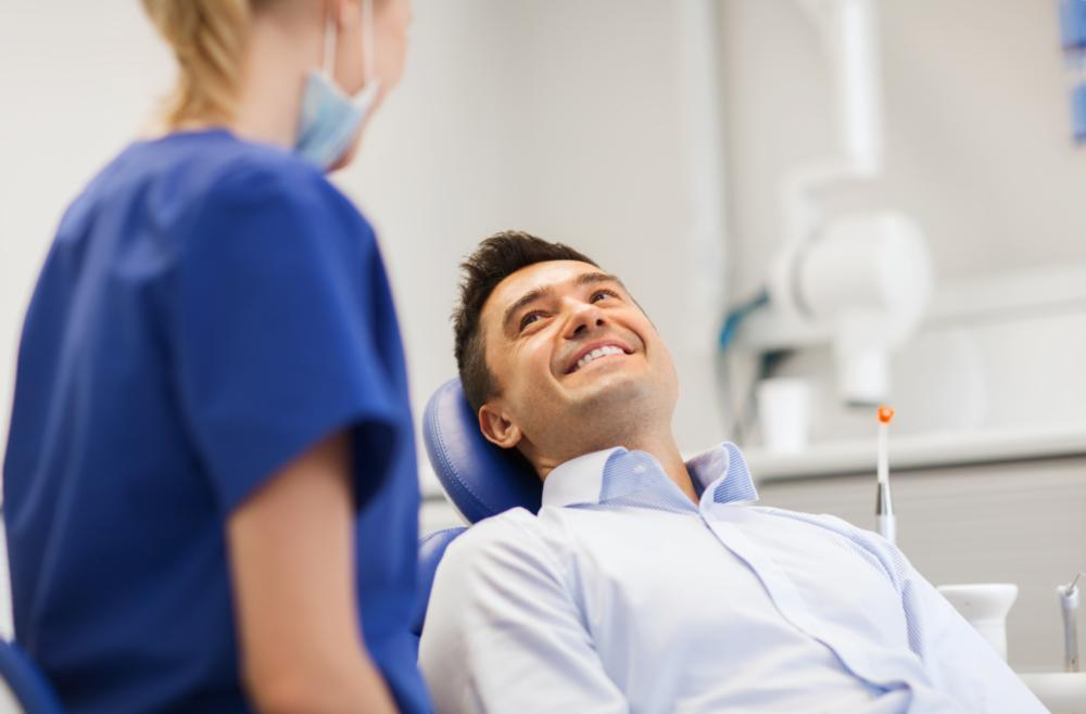 Man at dentist | Portnald OR Sedation Dentist