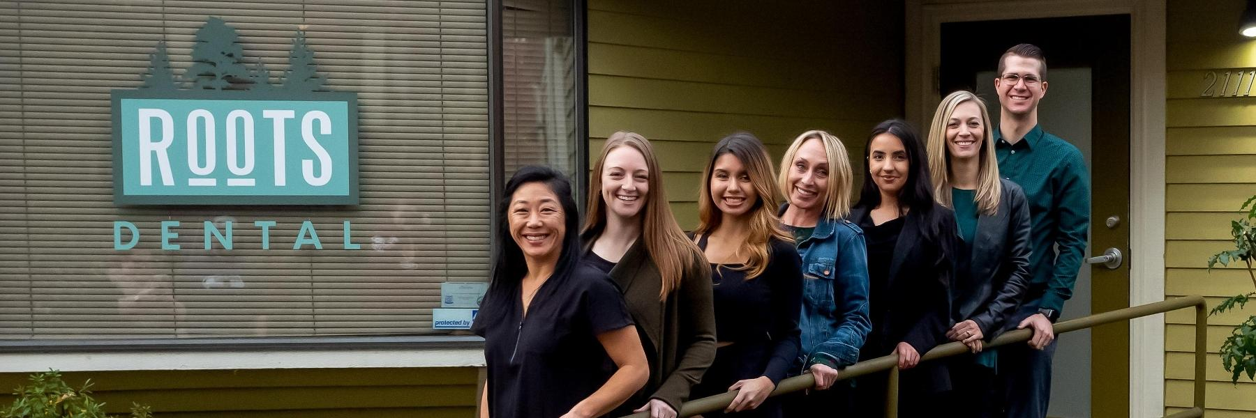 Dr. Hale and his team welcome you to the Hollywood office of Roots Dental.